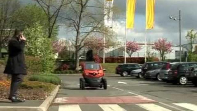Twizy : Arranque, circulatión y parada del vehículo